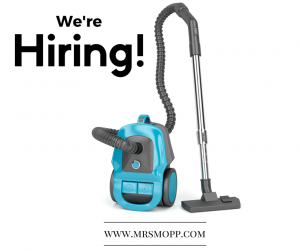 Mrs Mopp Hiring in Telford and Shrewsbury
