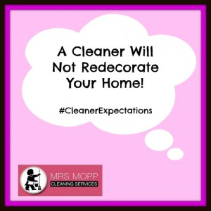 What To Expect From A Cleaner | Mrs Mopp UK