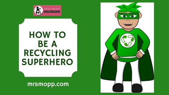 How to be a Recycling Superhero