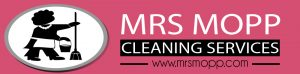 Mrs Mopp Cleaning services Logo