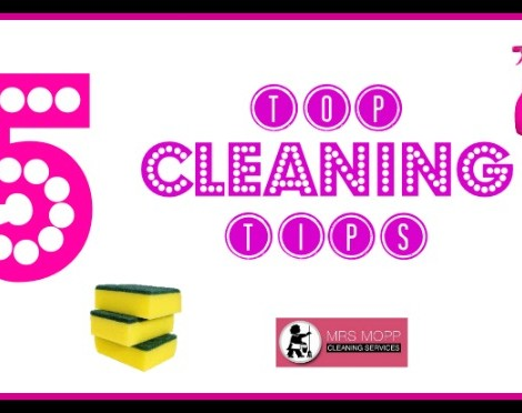 Cleaning Tips – Top 5 Weekly Round Up | Mrs Mopp