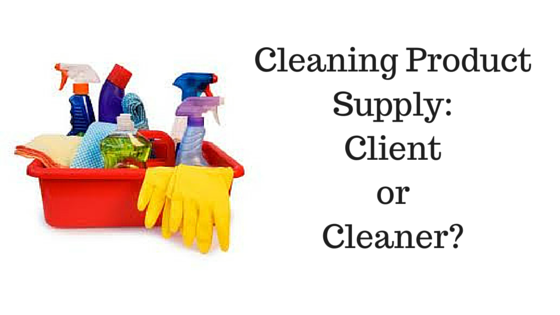Cleaning Product Supply: Cleaner Or Client?